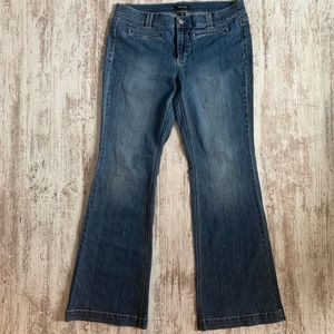 White House Black Market Flare Jeans 14R